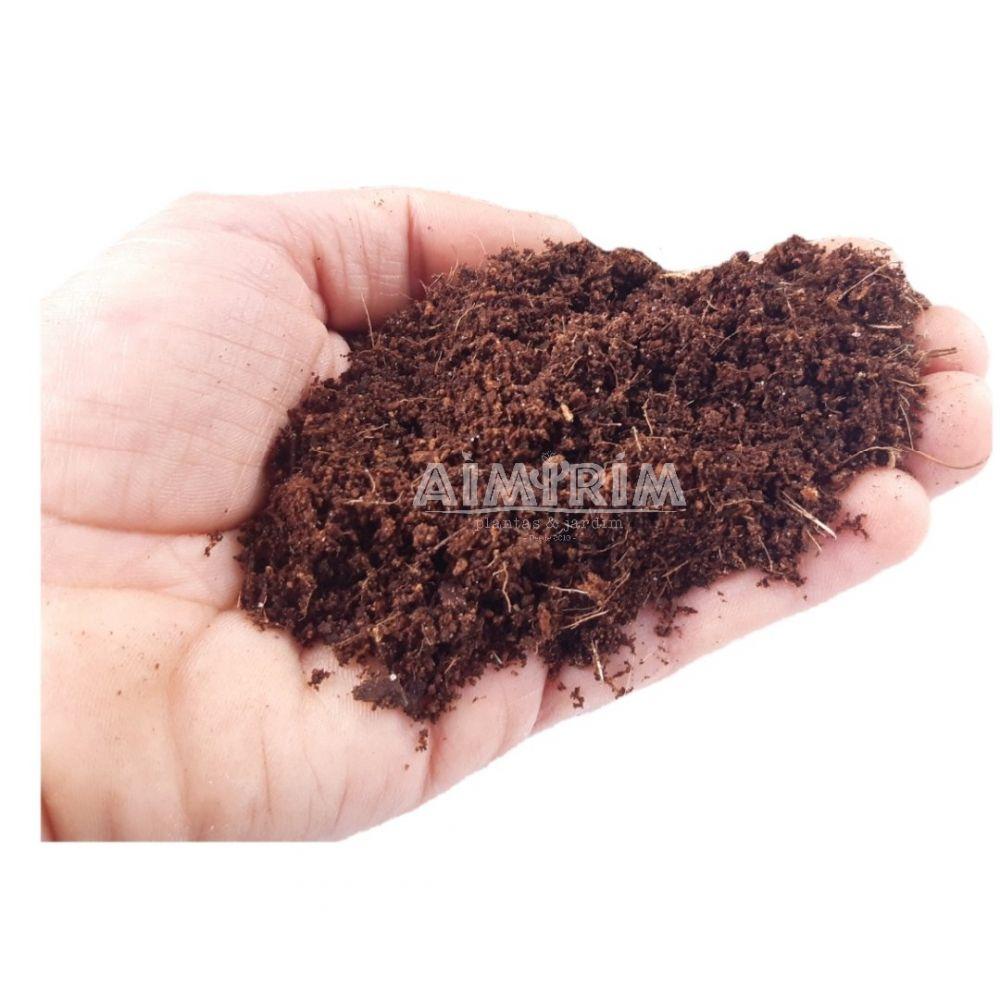 Pó de coco Kokostec 04 Para Plantio E Germinação - 10 Litros