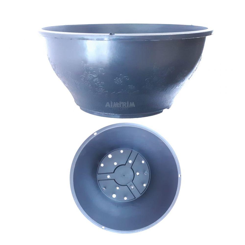 20 Vasos Cuia 24 cm - Preta